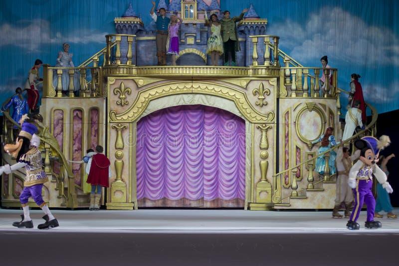 Avsluta av showen royaltyfri foto