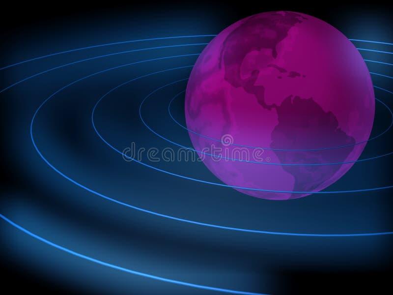 avståndsteknologi vektor illustrationer