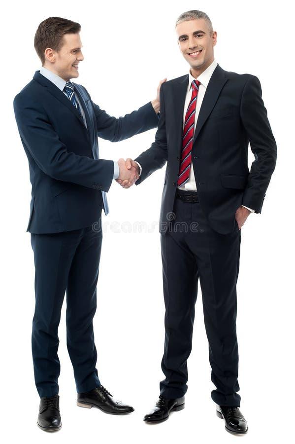 Avtalet har slutförts royaltyfria bilder
