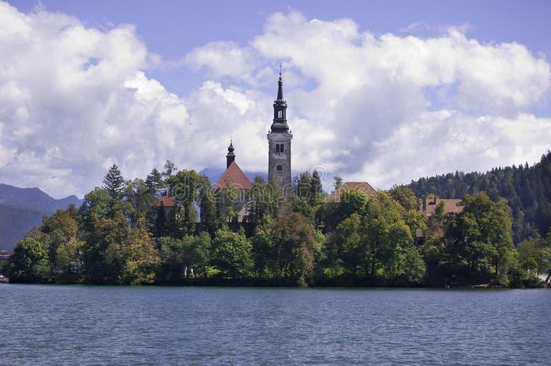 Download Avtappad lake slovenia fotografering för bildbyråer. Bild av turism - 19797813