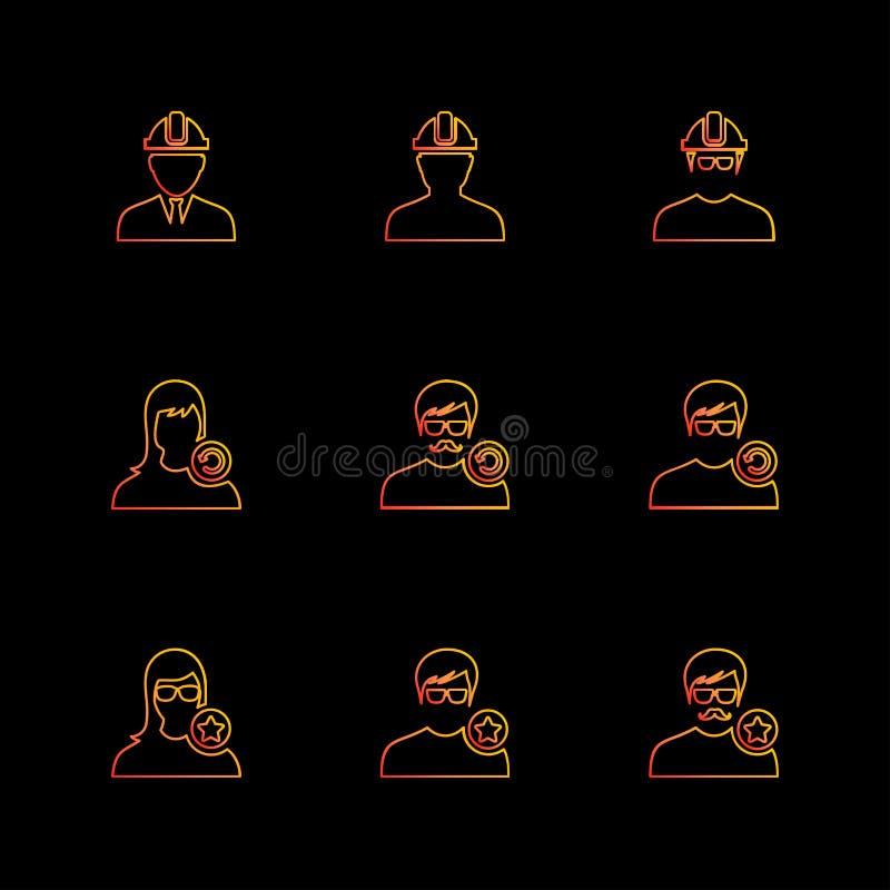 Avtar , user , profile , avatar , eps icons set vector. Avtar , user , profile , avatar , dp , picture , profile picture , man , women , girl , boy , kid , child stock illustration