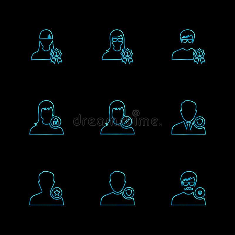 Avtar , user , profile , avatar , eps icons set vector. Avtar , user , profile , avatar , dp , picture , profile picture , man , women , girl , boy , kid , child royalty free illustration