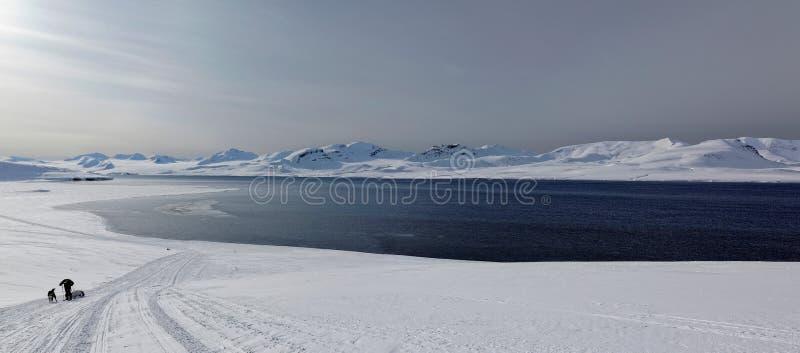 Avventura nelle Svalbard fotografie stock libere da diritti