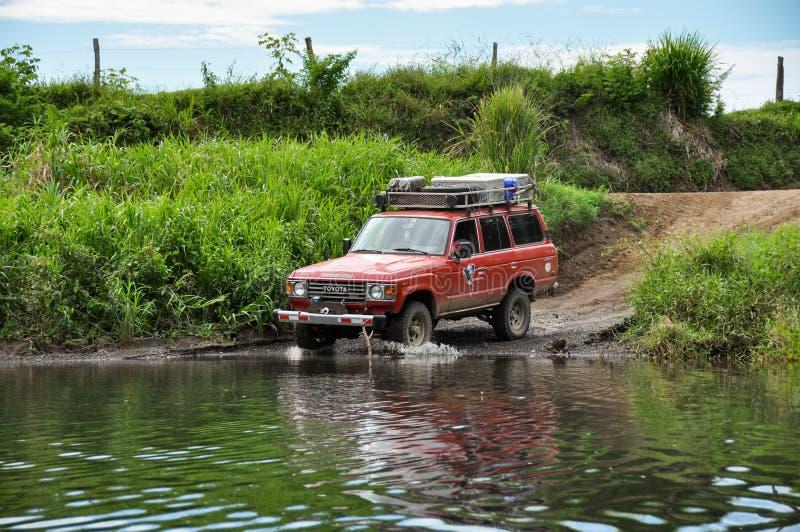 Avventura in penisola di Nicoya, Costa Rica immagini stock