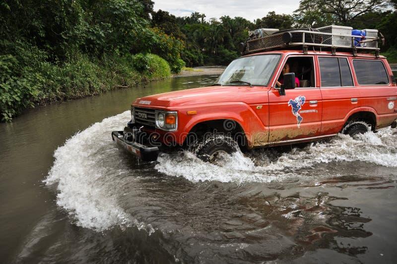 Avventura in penisola di Nicoya, Costa Rica fotografia stock