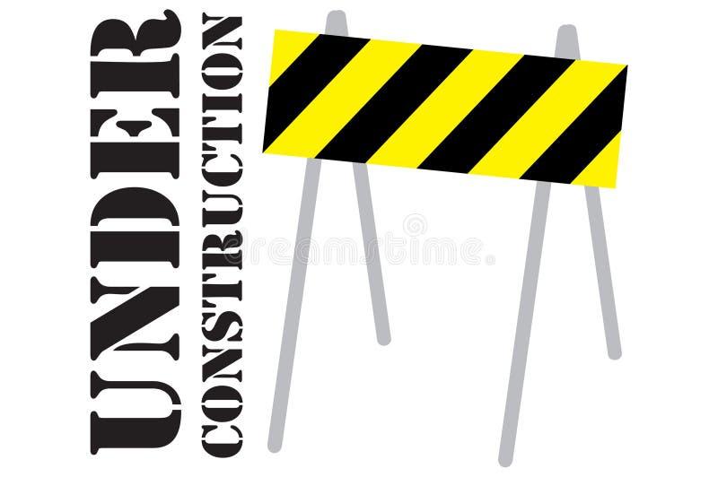 Avvertimento. illustrazione vettoriale