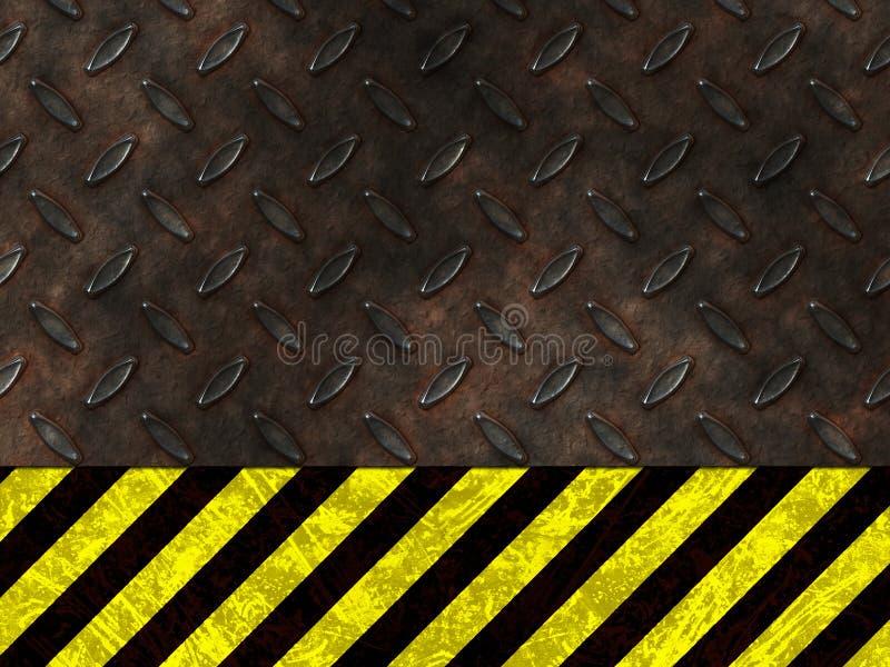 Avvertimento del pericolo di rischio illustrazione vettoriale