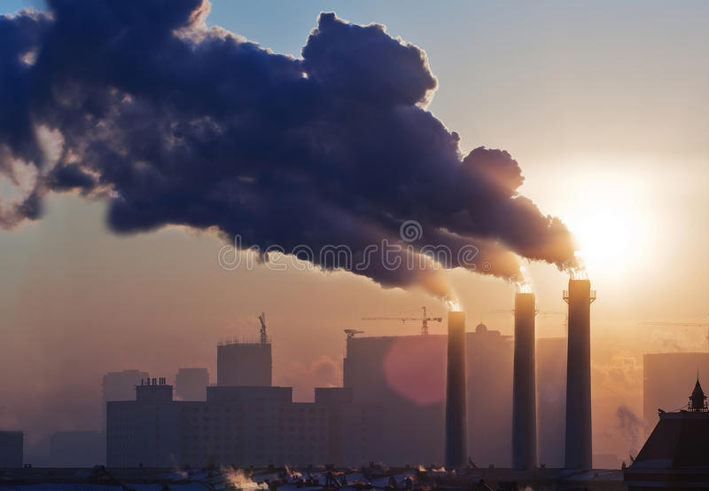 Riscaldamento globale immagini stock