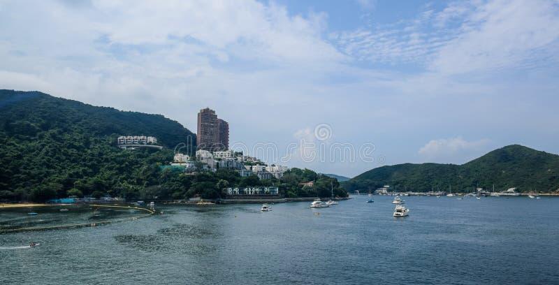 Avvvisandefjärdstrand i Hong Kong royaltyfri fotografi