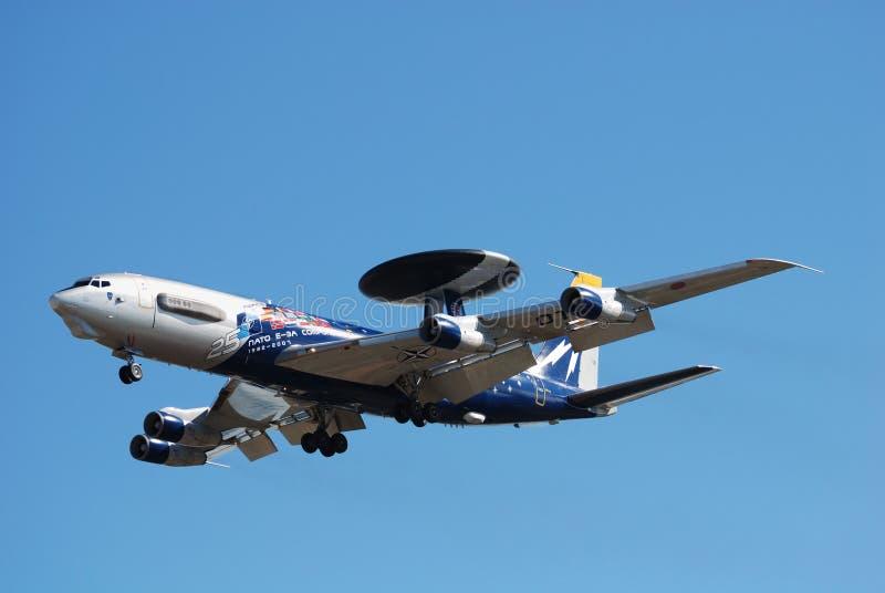 AWACS E-3A da OTAN foto de stock