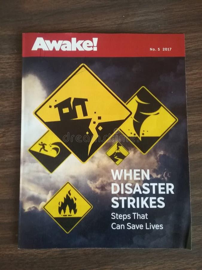 Awake no 5 2017 stock photo