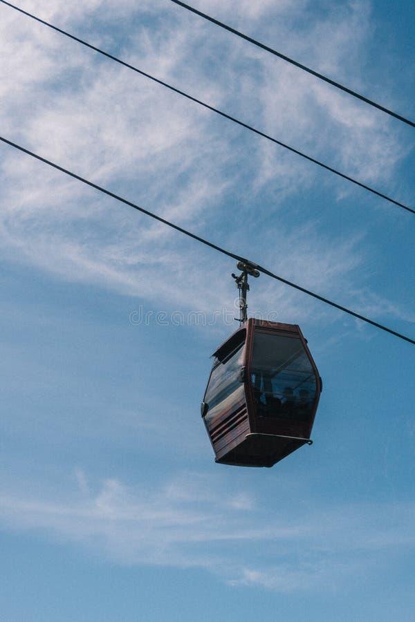 Awana Skyway dans Pahang, Malaisie images libres de droits