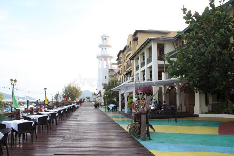 awanahotell langkawi malaysia arkivbild