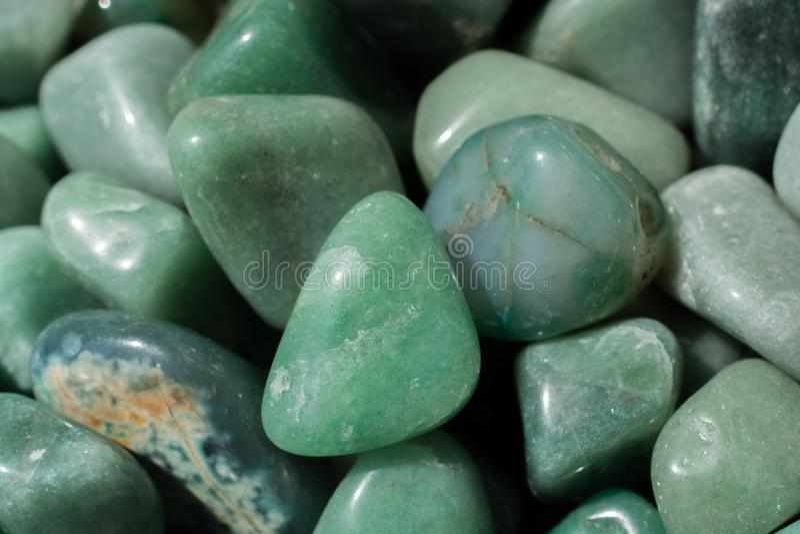 awanturynu klejnotu kamień jako naturalna kopaliny skała zdjęcia stock