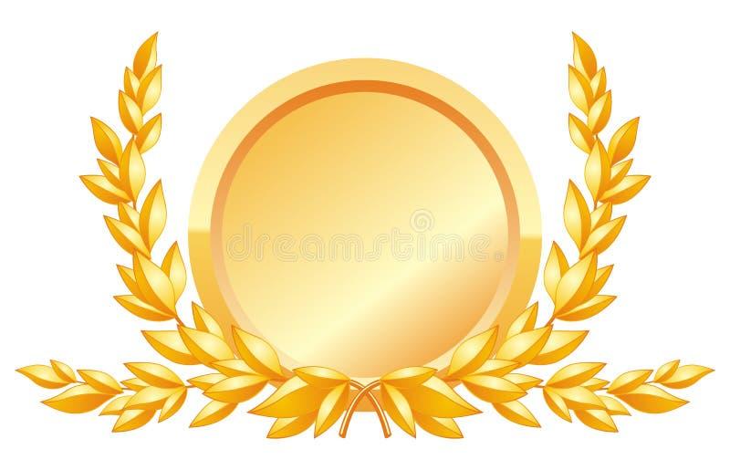 Download Award Decoration stock vector. Illustration of branch - 25694945