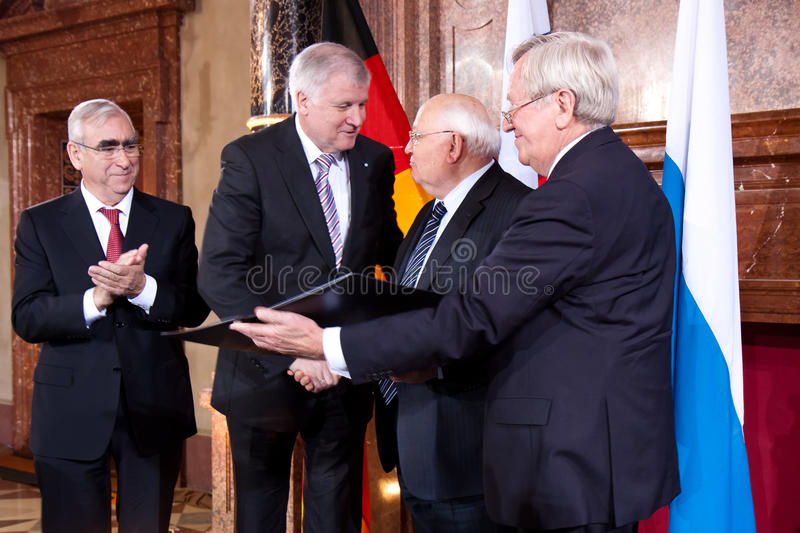 Download Award Of The Franz-Josef Strauss Prize Editorial Stock Image - Image: 22403289