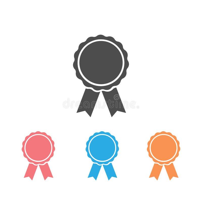 Award icon set symbol on white. Vector illustration vector illustration