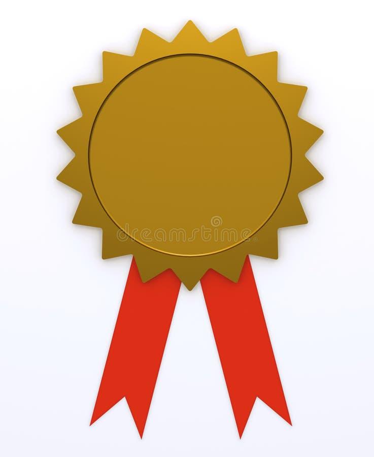 Award Ribbon Stock Photo