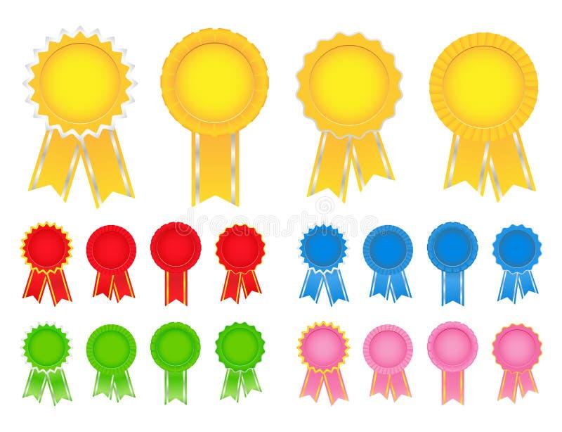 award ribbons απεικόνιση αποθεμάτων