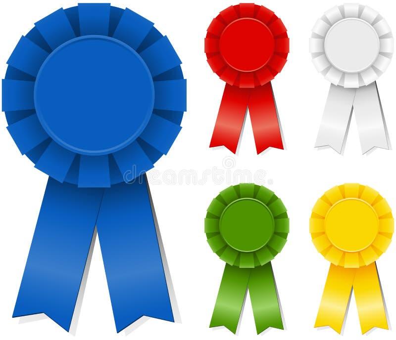 Award Ribbons Stock Vector - Image: 53647463