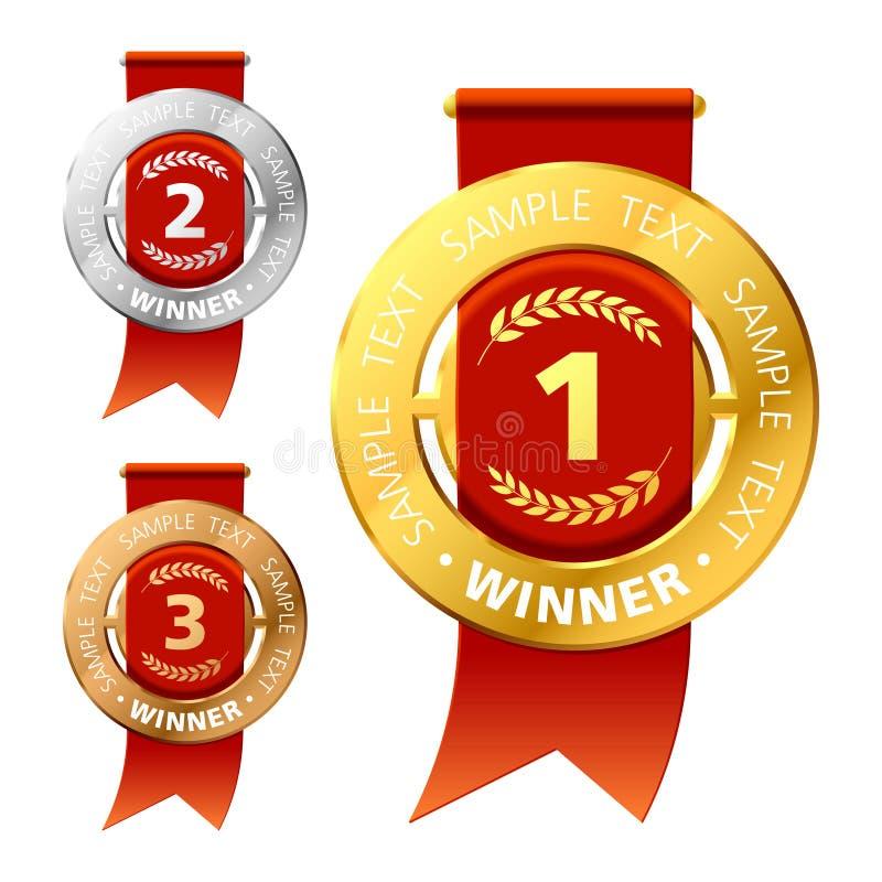 Awards vector illustration