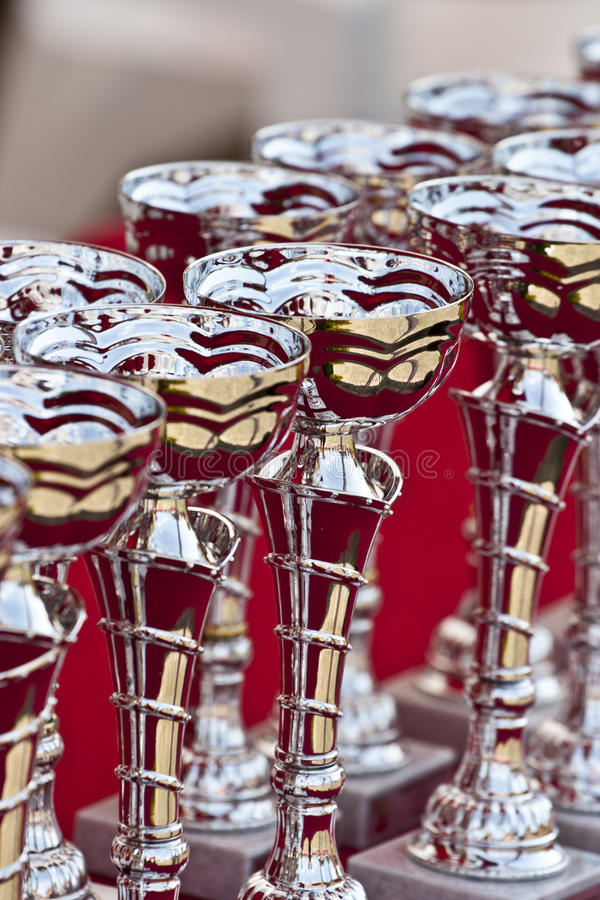 Download Awards stock photo. Image of trophy, award, blue, places - 23409692