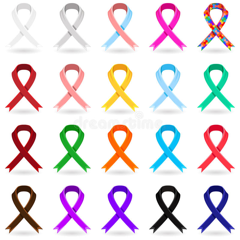 Free Awareness Ribbons Royalty Free Stock Photos - 27156598