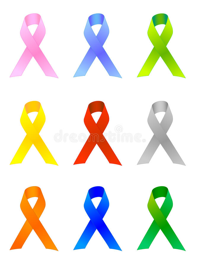 Download Awareness Ribbons / EPS stock vector. Image of amber - 15178292
