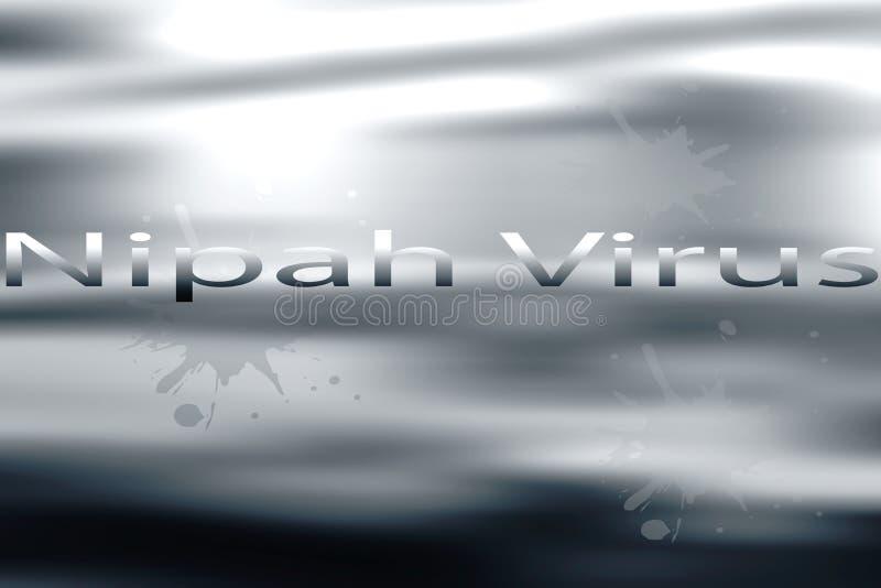 Awarness ιών Nipah ελεύθερη απεικόνιση δικαιώματος