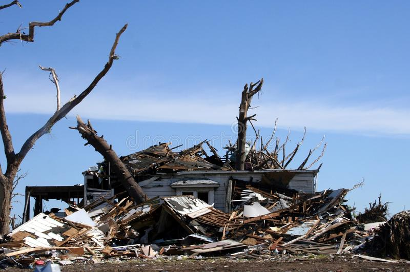 awaryjny tornado obraz royalty free