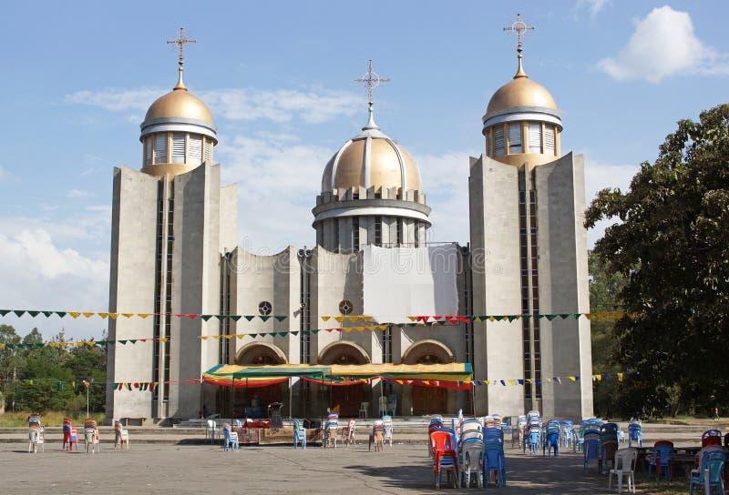 Awassa Etiopien, Afrika arkivfoto