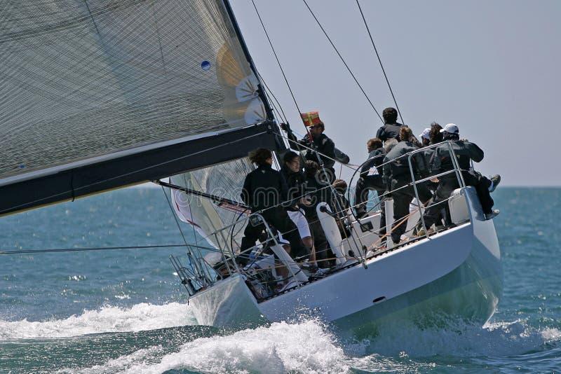 away segling fotografering för bildbyråer