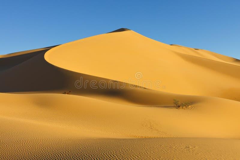 awbari pustynny wydmowy Libya Sahara piaska morze zdjęcia stock