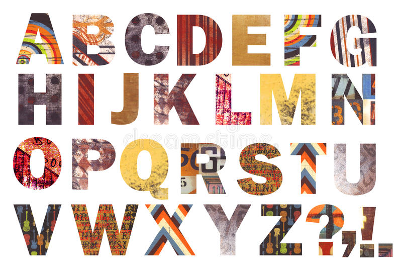 Download Awesome Abstract Alphabet! Stock Photo - Image: 20867640