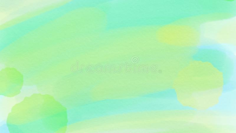 Awesome abstract watercolor green and blue background for webdesign, colorful background, blurred, wallpaper vector illustration