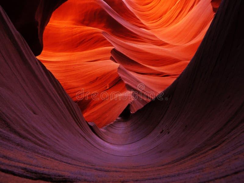 Awesome Antelopes Canyon stock image