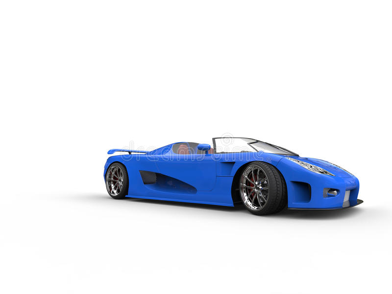 Charmant Download Awesome Blue Convertible Sportscar Stock Photo   Image Of  Isolated, Design: 66972280