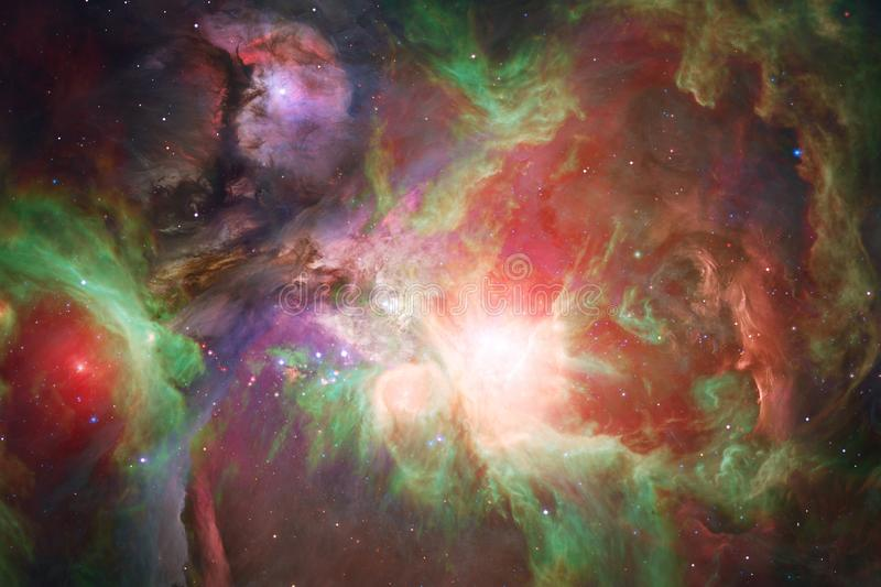 Awesome galaxy in outer space. Starfields of endless cosmos. Elements of this image furnished by NASA stock photo