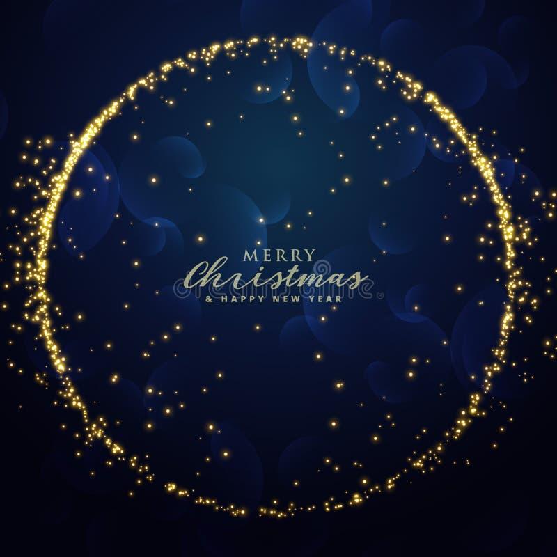 Awesome glitter sparkle background for christmas festival season. Illustration royalty free illustration