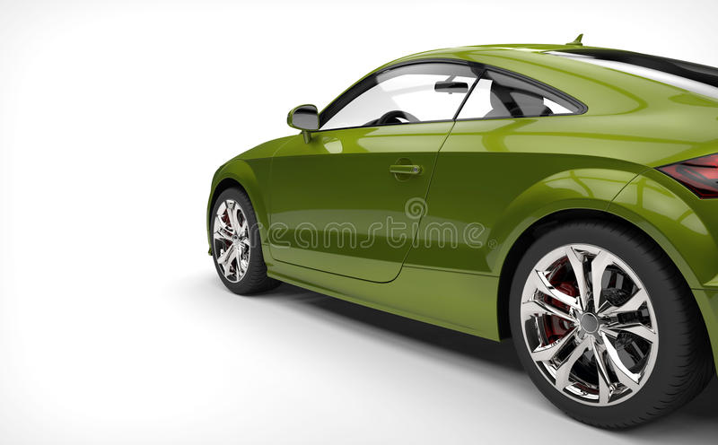 Awesome Green Car Stock Photo. Image Of Alloy, Metallic
