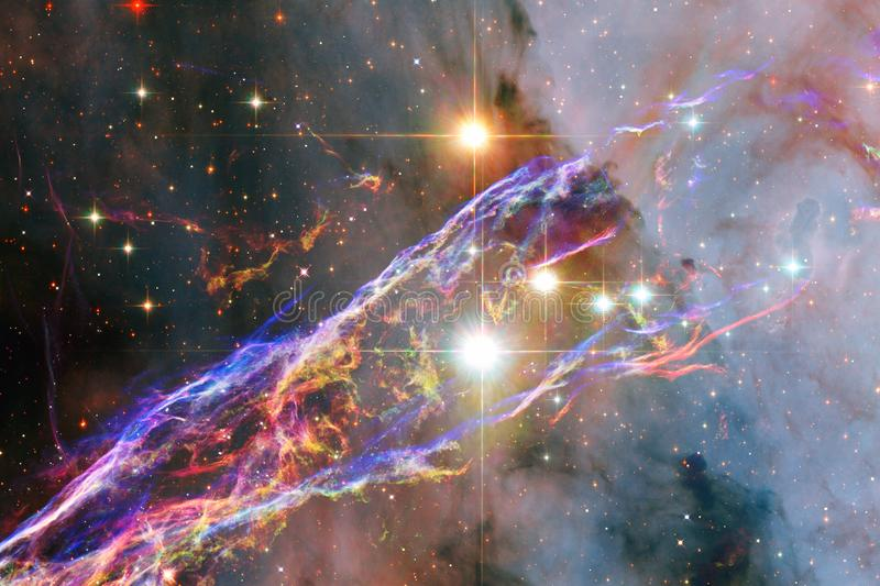 Awesome nebula. Billions of galaxies in the universe. Elements of this image furnished by NASA vector illustration