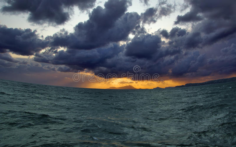 Awesome smile of the sea stock photography