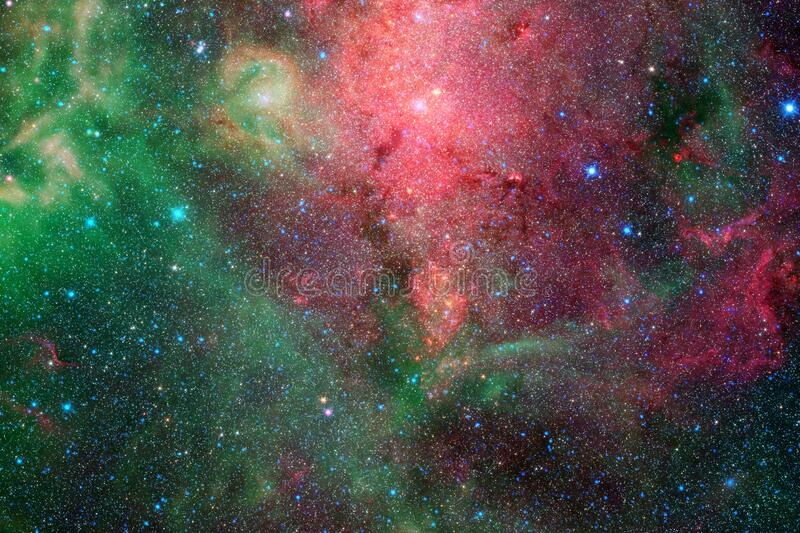 Awesome space background. Elements of this image furnished by NASA.  royalty free stock photos