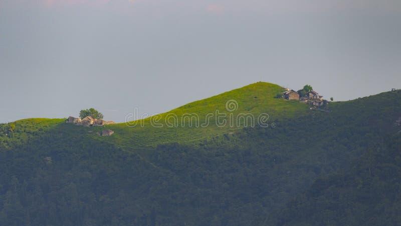 Italian mountains stock image
