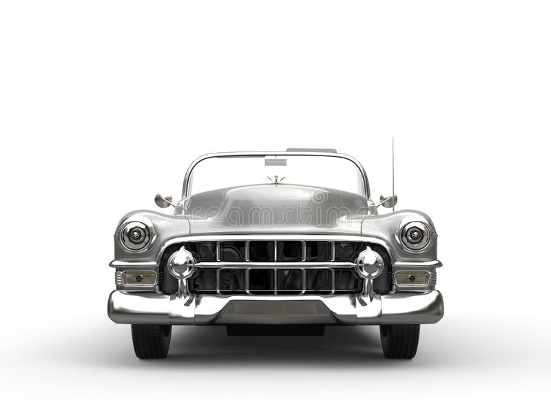 Download Awesome Vintage Car - Front View Stock Illustration - Image: 83718351