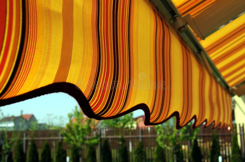Download Awning stock image. Image of cover, sunny, shade, view - 14074989