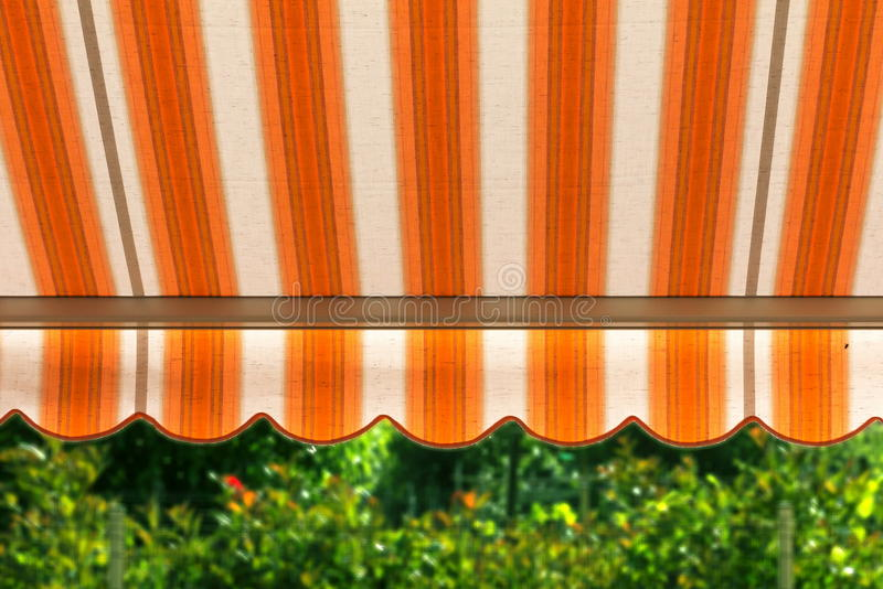 Awning royalty free stock images