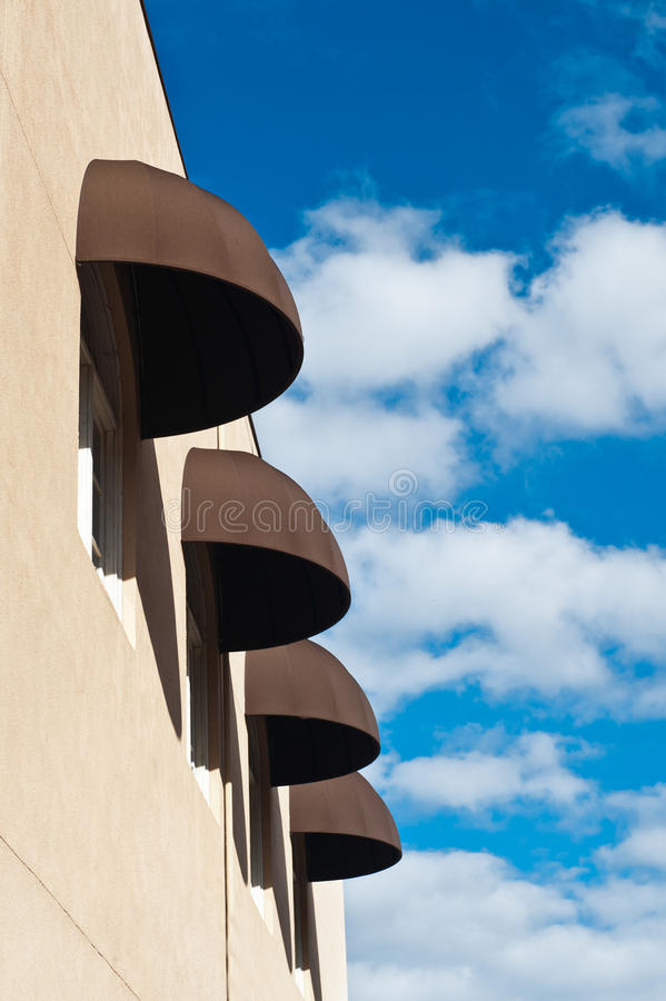 Awnings Stock Images