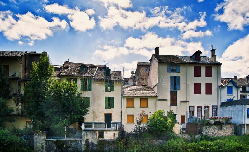 Ax les Thermes południe Francja zdjęcie royalty free