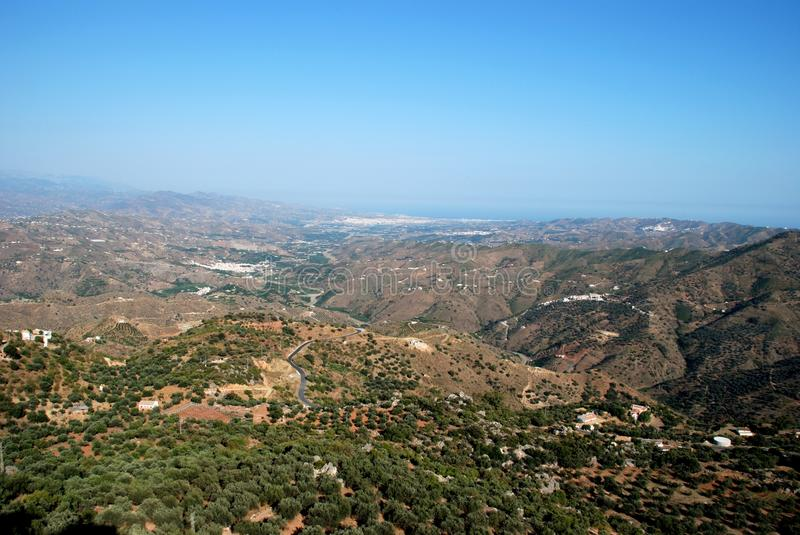 Download Axarquia Countryside, Andalusia, Spain. Stock Image - Image: 24025089